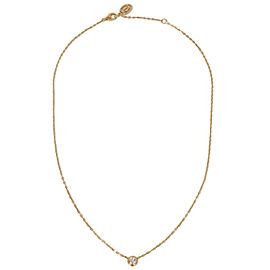 Cartier Diamant Leger Diamond Necklace in 18K Yellow Gold 0.18 CTW