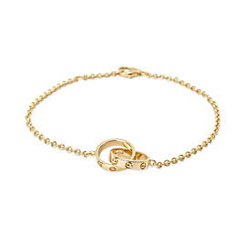 Cartier Love Bracelet in 18K Yellow Gold