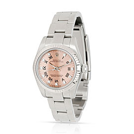 Rolex Oyster Perpetaul 176234 Women's Watch in 18kt White Gold/Steel