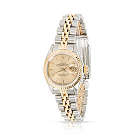 Rolex Datejust 69173 Women's Watch in 18kt Stainless Steel/Yellow Gold