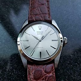 ROLEX Men's Oyster Precision Royal 6426 Hand-Wind, c.1963 Vintage Swiss MA147