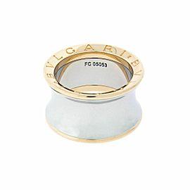 Bvlgari B.ZERO1 Anish Kapoor ring in 18k rose gold & steel size 52