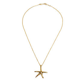 Tiffany & Co. Elsa Peretti Starfish Necklace in 18K Yellow Gold