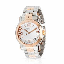 Chopard Happy Sport 278582-6002 Unisex Watch in 18kt Stainless Steel/Rose Gold