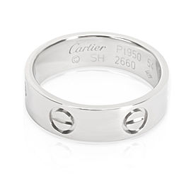 Cartier Love Ring in Platinum (Size 54)