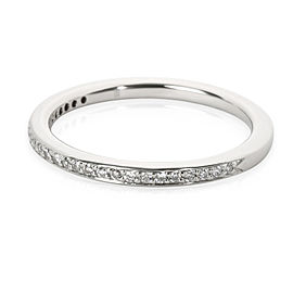 Blue Nile Micro Pave Diamond Wedding Band in Platinum 0.13 CTW