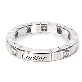 Cartier Lanieres Diamond Band in 18KT White Gold