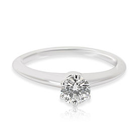 Tiffany & Co. Diamond Engagement Ring in Platinum H SI1 0.36 CTW