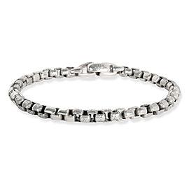 David Yurman Hammered Links Bracelet in Sterling Silver