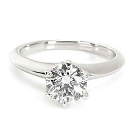 Tiffany & Co. Solitaire Diamond Engagement Ring in Platinum (1.10 ct I/VS2)