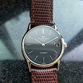 Men's IWC ref.3209 Automatic w/Date Turler Dial, c.1972 Swiss Vitnage LV579BRN