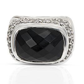 David Yurman Diamond Fashion Ring in Sterling Silver 1.35 CTW