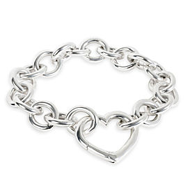 Tiffany & Co. Heart Link Bracelet in Sterling Silver