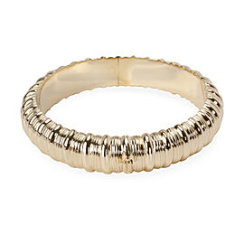 Vintage Cartier Ribbed Bangle in 18K Yellow Gold