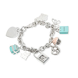 Tiffany & Co. Charm Bracelet in Sterling Silver