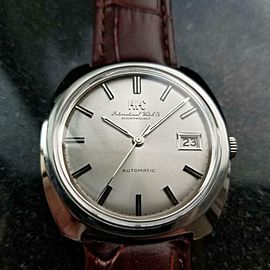 Men's IWC Schaffhausen Vintage Automatic w/Date 36mm, c.1970s Swiss NS22BRN
