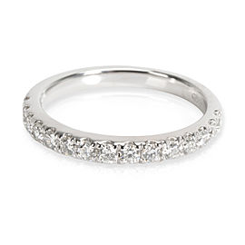 Diamond Wedding Band in 14KT White Gold 0.52 CTW