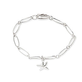 Tiffany & Co. Elsa Peretti Sarfish Bracelet in Sterling Silver