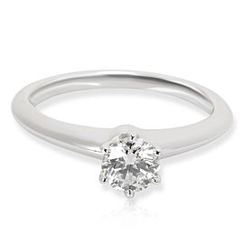 Tiffany & Co. Diamond Engagement Ring in Platinum 0.39 CTW