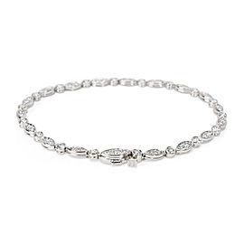 Tiffany & Co. Jazz Bracelet in Platinum (1.60 CTW)
