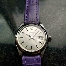 Ladies Rolex 6916 Oyster Perpetual Automatic w/Date, c.1970s Swiss Chic LV843LAV