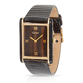 Cartier Tank Tank Unisex Watch in Gold Plate