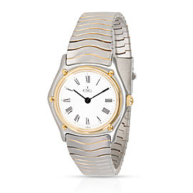 Ebel Wave 181908 Women's Watch in 18K Stainless Steel/Yellow Gold