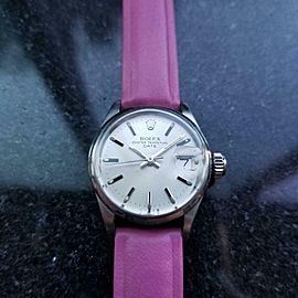 Ladies Rolex Oyster Perpetual 6516 Automatic w/Date, c.1970s Swiss Lux LV845PNK