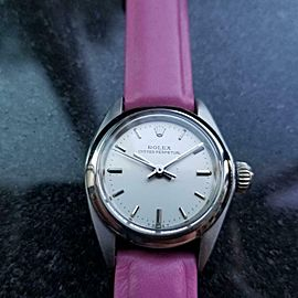 Ladies Rolex ref.6718 Oyster Perpetual automatic, c.1981 Vintage Luxury MS152PNK