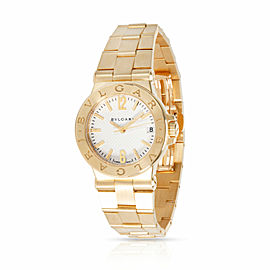 Bulgari Diagono DG 29 G Women's Watch in 18kt Yellow Gold
