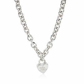 Tiffany & Co. Heart Locket Necklace in Sterling Silver