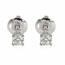 Tiffany & Co. Diamond Stud Earring in Platinum 0.24 CTW
