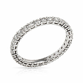 Tiffany & Co. Embrace Diamond Eternity Band in Platinum 0.85 CTW