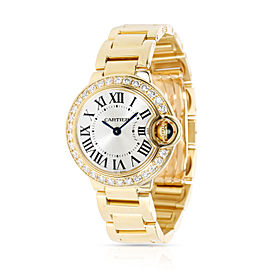 Unworn Cartier Ballon Bleu WE9001Z3 Women's Watch in 18kt Yellow Gold