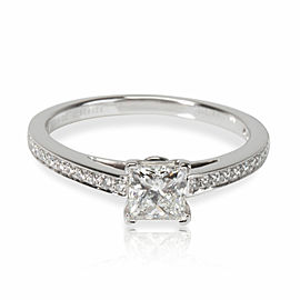 Tiffany & Co. Grace Diamond Engagement Ring in Platinum F VS1 0.53 CTW