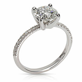 James Allen Round Cut Diamond Engagement Ring in Platinum AGS I VVS2 1.7 CTW