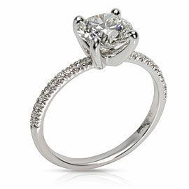James Allen Round Cut Diamond Engagement Ring in Platinum AGS I VVS2 1.7 CTW