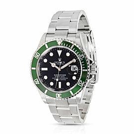 """Rolex Submariner 16610V """"Kermit"""" Men's Watch in Stainless Steel"""