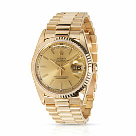 Rolex Day-Date President 18238 Men's Watch in 18kt Yellow Gold