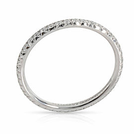 Tiffany & Co. Metro Diamond Band in 18K White Gold 0.21 CTW