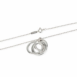 Tiffany & Co. Tiffany 1837 Interlocking Circles Necklace in Sterling Silver