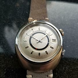 Men's Jaeger LeCoultre Memovox E861 Automatic w/Date and Alarm, c.1960s MS121GRY