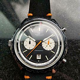 Men's Breitling Chronomatic ref.7651 Automatic Chronograph, c.1970s LV226BLK