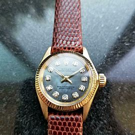 Ladies Rolex Oyster Perpetual ref.6619 25mm 18k Gold Automatic, c.1960s LV875