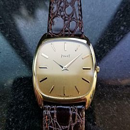 Men's Piaget ref.9591 30mm 18k Gold Manual Wind Ultra-Thin, c.1970s LV833