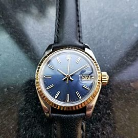 Ladies Rolex Oyster Date Ref.6917 26mm Automatic w/Box & Paper, c.1980s LV973BLK