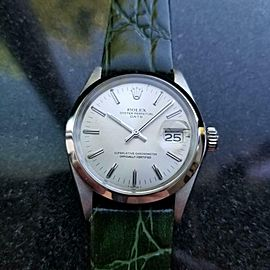 Men's Rolex Oyster Perpetual Date Ref.1500 34mm Automatic, c.1970s LV779GRN