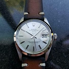 Men's Rolex Oyster Perpetual Date Ref.1500 34mm Automatic, c.1970s LV779