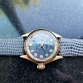 Ladies Rolex Oyster Ref.6619 25mm 18k Gold Automatic MOP Dial, c.1960s LV860GRY