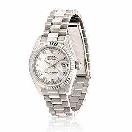 Rolex Datejust 179179 Women's Watch in 18kt White Gold